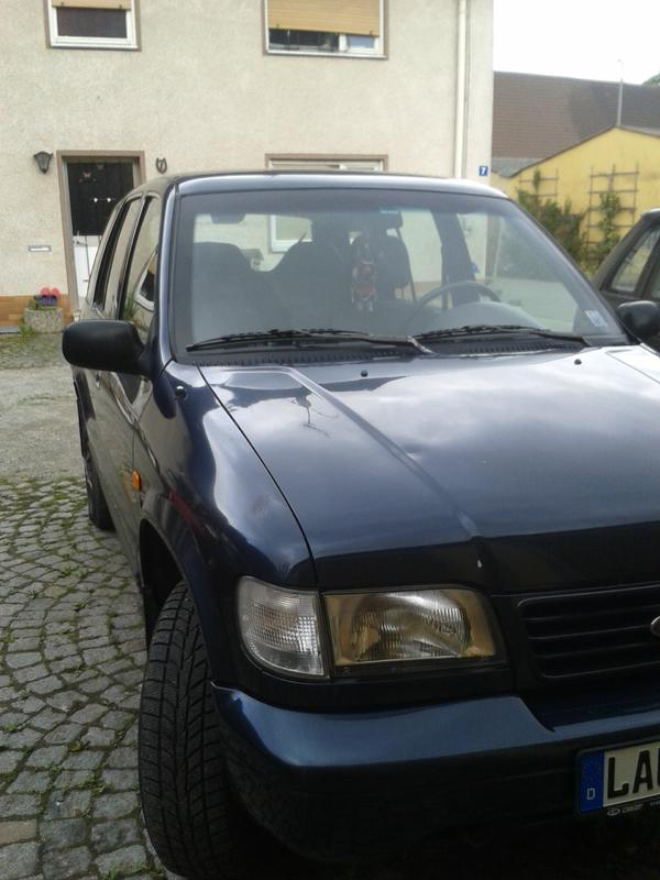 the car tausche kia sportage bj 1998 gegen opel frontera bj 1995 of 1200. Black Bedroom Furniture Sets. Home Design Ideas