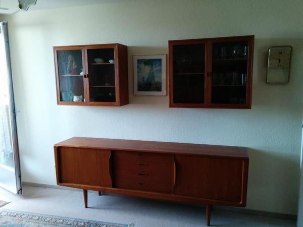 teak m bel massivholz 70er jahre in berlin wohnzimmerschr nke anbauw nde kaufen und verkaufen. Black Bedroom Furniture Sets. Home Design Ideas