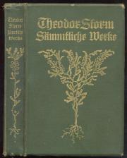 Theodor Storm -Sämmtliche