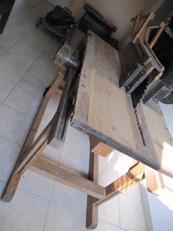 tischkreiss ge kreiss ge holzs ge mit riemenantrieb sehr gepflegt in thannhausen ger te. Black Bedroom Furniture Sets. Home Design Ideas