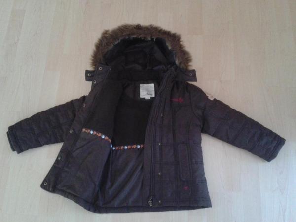 tom tailor winterjacke jacke f r m dchen gr 116 122 warme tom tailor. Black Bedroom Furniture Sets. Home Design Ideas