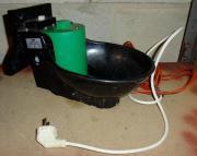 Tränke + Heizkabel automatische