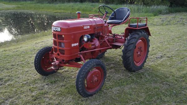 traktor fahr d90 in kirchheimbolanden traktoren. Black Bedroom Furniture Sets. Home Design Ideas