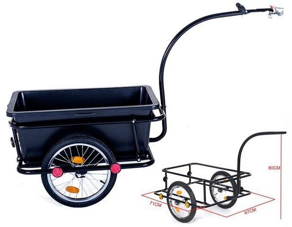 transportanh nger fahrradanh nger cargotrailer schwarz lastenanh nger in m nchen sonstige. Black Bedroom Furniture Sets. Home Design Ideas