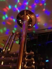 Trompete Ventiltrompete auf