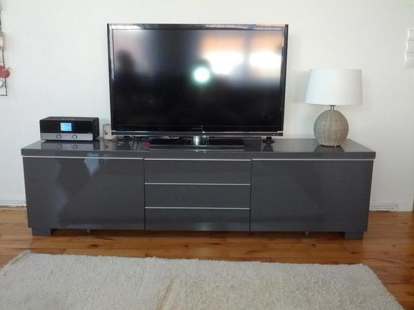 tv m bel tv bank lowboard ikea besta burs in g tzis ikea m bel kaufen und verkaufen ber. Black Bedroom Furniture Sets. Home Design Ideas