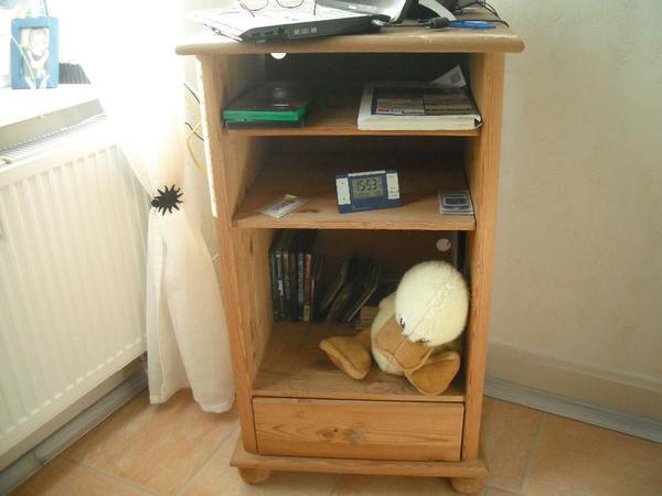 Wohnwand Buche Nachbildung Wohnzimmerschrank