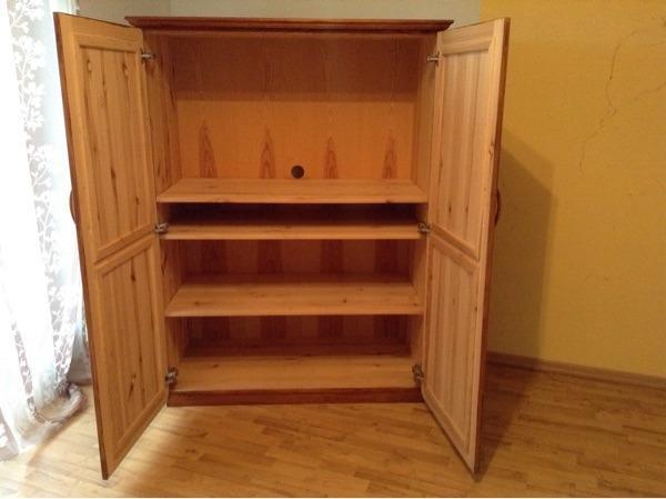 tv schrank holzschrank massiv in rohr phono tv. Black Bedroom Furniture Sets. Home Design Ideas