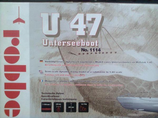 U-boot U 47 Robbe