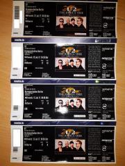 U2 4 Konzertkarten