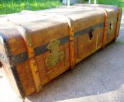 Überseekoffer antiker Koffer