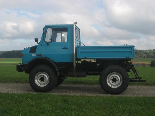 unimog u1000 424 in markt rettenbach traktoren. Black Bedroom Furniture Sets. Home Design Ideas