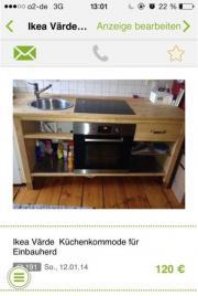 vaerde kuechenschrank haushalt m bel gebraucht und neu kaufen. Black Bedroom Furniture Sets. Home Design Ideas