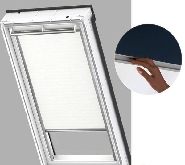 verdunklungsrollo f r veluxfenster vk 65 original velux. Black Bedroom Furniture Sets. Home Design Ideas