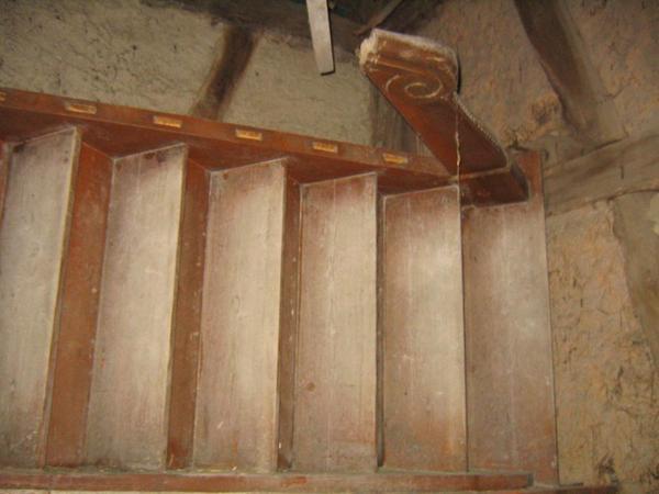 verkaufe antike holztreppe in gaggenau sonstiges material f r den hausbau kaufen und verkaufen. Black Bedroom Furniture Sets. Home Design Ideas