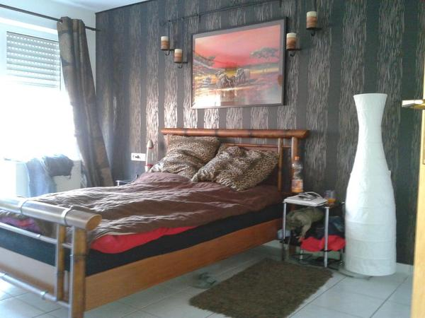 verkaufe bambus bett sumatra 140x200 in bretten betten. Black Bedroom Furniture Sets. Home Design Ideas