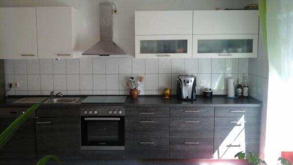 selten genutzte k che in sch nem eiche basal unterschr nke je 60 cm rechte oberschr nke je. Black Bedroom Furniture Sets. Home Design Ideas