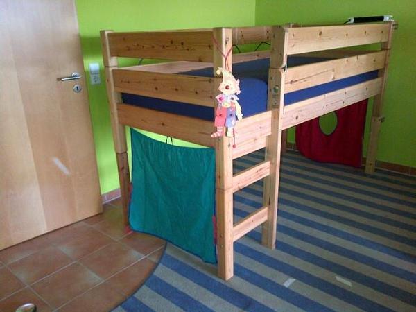 Verkaufe gut erhaltenes markenhochbett flexa l nge 209 for Jugendzimmer gebraucht