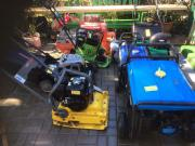 Verschiedene Garten Geräte