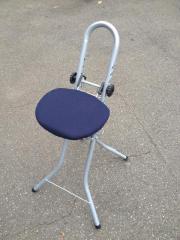 verstellbarer Bügelstuhl (zusammenklappbar),
