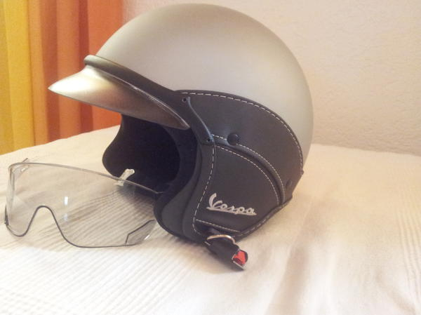 vespa helm in speyer motorrad helme protektoren kaufen. Black Bedroom Furniture Sets. Home Design Ideas