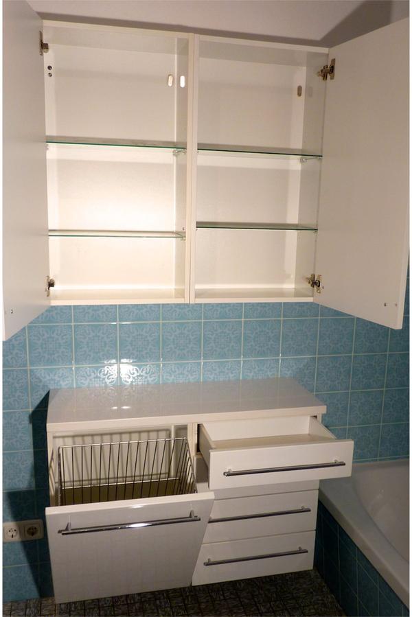 vigour badezimmer m bel cosima classic wei hochglanz. Black Bedroom Furniture Sets. Home Design Ideas