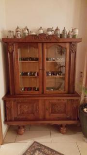 vitrinenschrank eiche rustikal haushalt m bel gebraucht und neu kaufen. Black Bedroom Furniture Sets. Home Design Ideas