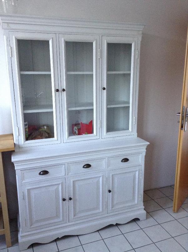 sehr sch ner vitrinenschrank zum abholen echtholz. Black Bedroom Furniture Sets. Home Design Ideas