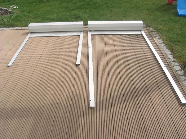 Vorbaurollladen F R Fenster Und Balkont Re In Silber Wie