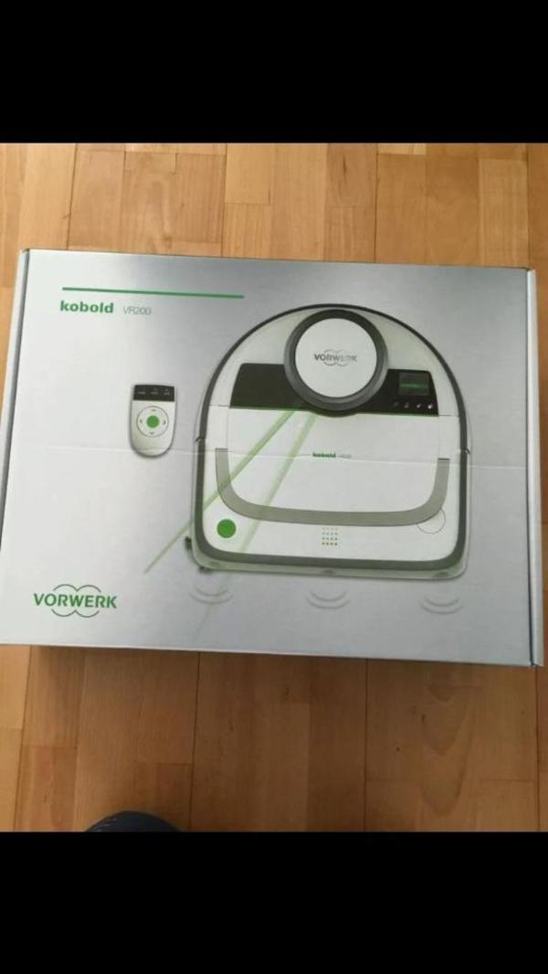vorwerk kobold vr 200 saugroboter staubsauger roboter neu originalverpackt in m nchen kaufen. Black Bedroom Furniture Sets. Home Design Ideas