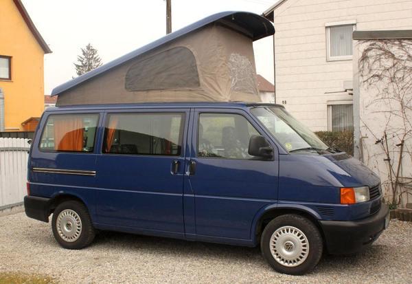 vw bus t4 california hnlich ausgebaut mit aufstelldach in. Black Bedroom Furniture Sets. Home Design Ideas