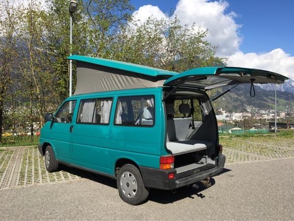 vw t4 campingbus in bludenz vw bus multivan caravelle. Black Bedroom Furniture Sets. Home Design Ideas