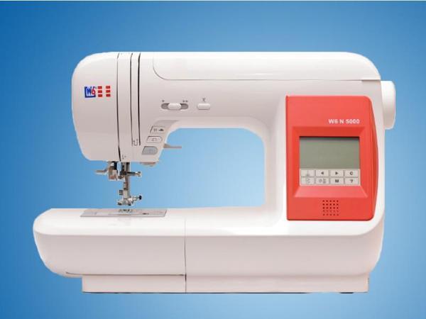 W6 N 5000 Hochwertige Nähmaschine zum Nähen wie die Profis  -> Nähmaschine Quilten