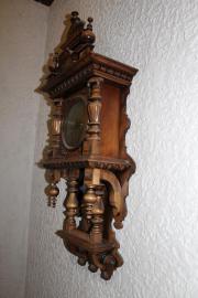 wanduhr holz antik sammlungen seltenes g nstig kaufen. Black Bedroom Furniture Sets. Home Design Ideas