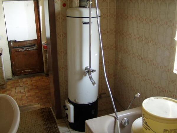 warmwasser boiler f r bad mit holz zu heizen in ro bach. Black Bedroom Furniture Sets. Home Design Ideas