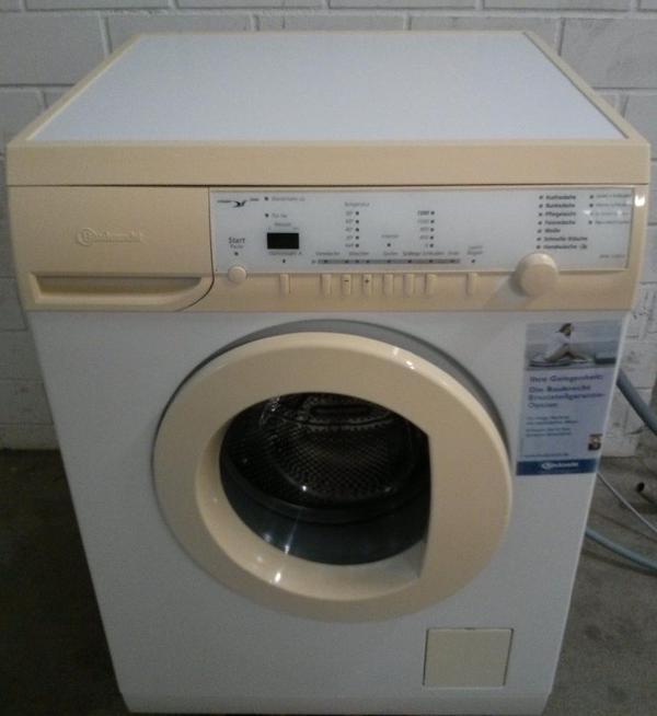 waschmaschine von baucknecht 5 jahre alt in m nchen. Black Bedroom Furniture Sets. Home Design Ideas