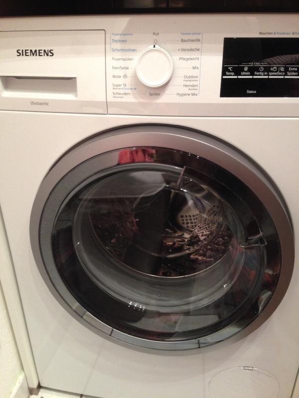 waschtrockner siemens in erbach waschmaschinen kaufen. Black Bedroom Furniture Sets. Home Design Ideas