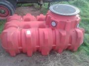 Wassertank unterirdisch Profiqualität