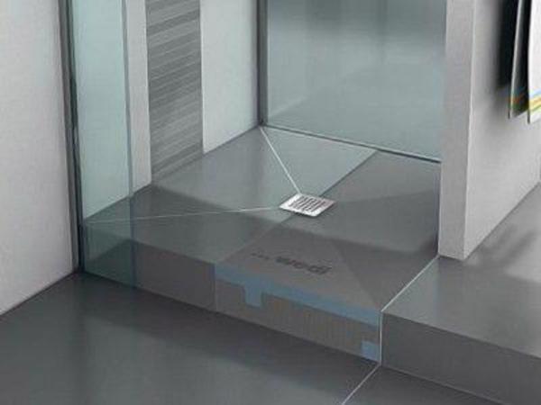wedi element f r bodentiefe dusche 90x90 in cleebronn elektro heizungen wasserinstallationen. Black Bedroom Furniture Sets. Home Design Ideas