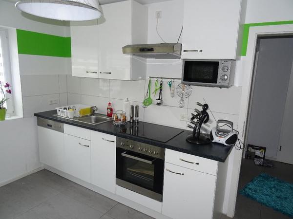 Weiße Hochglanzküche inkl. E-Geräte in Göllheim - Küchenzeilen ...