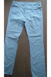 Weiße Jeans von