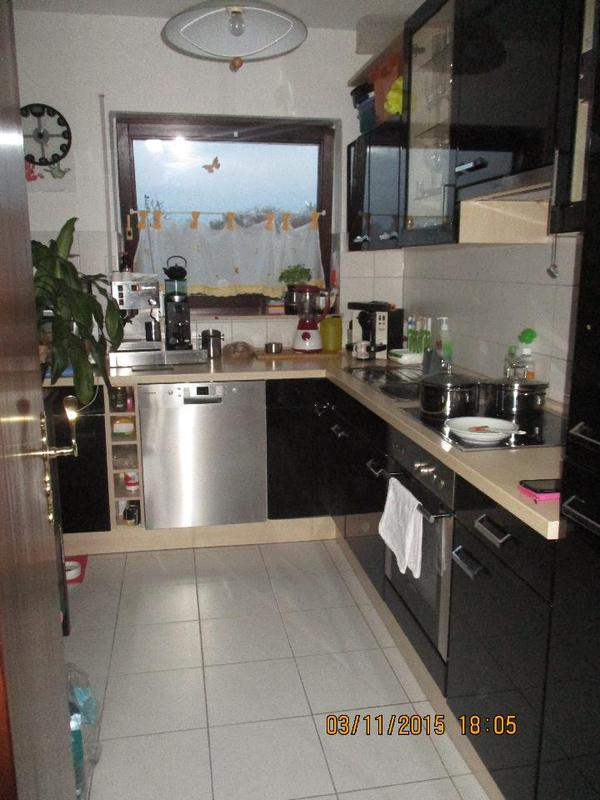 Wir verkaufen unsere schone wellmann kuche in schwarz for Spülmaschine leise