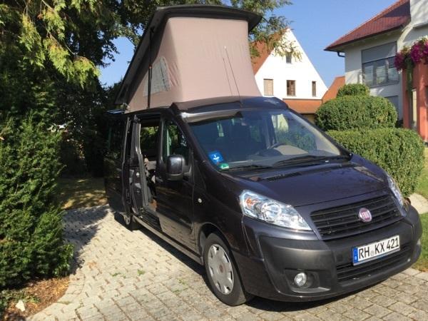 westfalia fiat scudo van mit ausklappdach in hilpoltstein wohnmobile kaufen und verkaufen ber. Black Bedroom Furniture Sets. Home Design Ideas