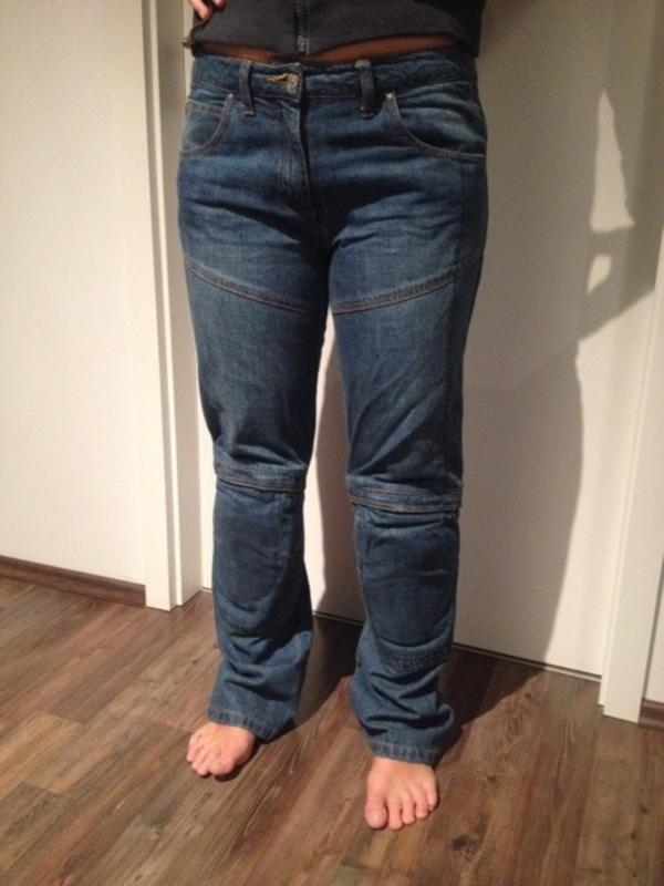 wie neu vanucci motorrad jeans teramid gr 40 in. Black Bedroom Furniture Sets. Home Design Ideas