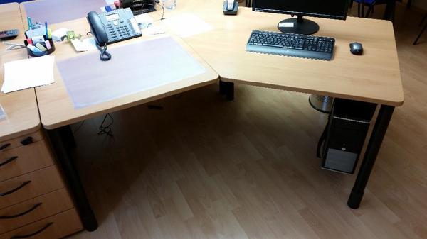 Winkelschreibtisch WERNDL Quadrino in Nürnberg - Büromöbel ...