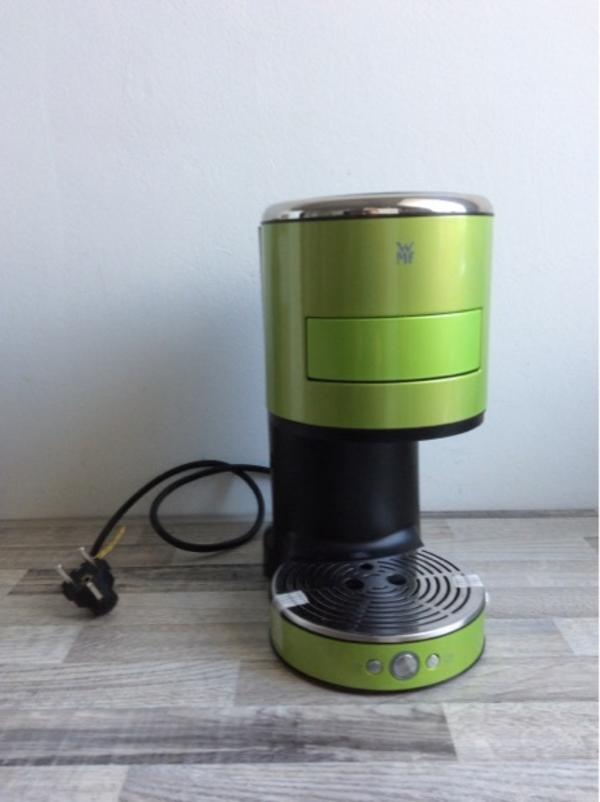 wmf kaffeepadmaschine im stylischen gr n in eckental essen und trinken kaufen und verkaufen. Black Bedroom Furniture Sets. Home Design Ideas