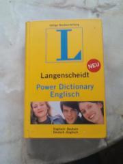 Wörterbuch Deutsch- Englisch,