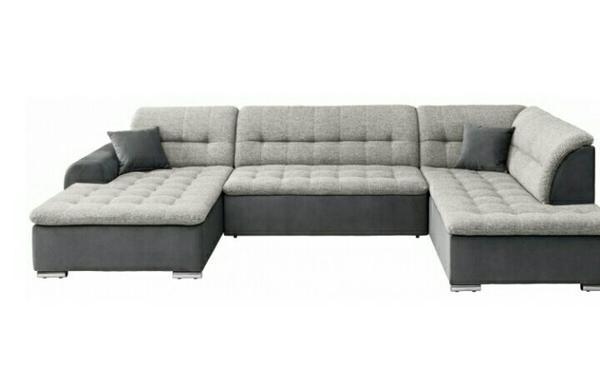 wohnlandschaft sofa ausziehbar neuwertig in geretsried polster sessel couch kaufen und. Black Bedroom Furniture Sets. Home Design Ideas