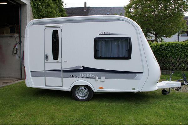 wohnwagen hobby de luxe 350 tb 350tb in wiebelsheim. Black Bedroom Furniture Sets. Home Design Ideas