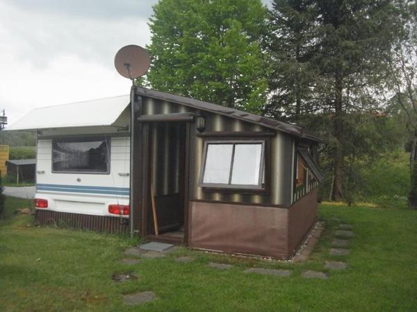 wohnwagen mit stellplatz neu und gebraucht kaufen bei. Black Bedroom Furniture Sets. Home Design Ideas